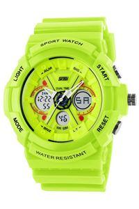Picture of  Đồng hồ nam dây nhựa SKMEI Sport Watch 0966 (Xanh Lá)