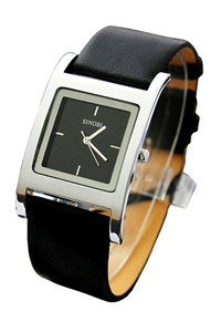 Picture of Đồng hồ nam dây da Sinobi S9155G (Đen)