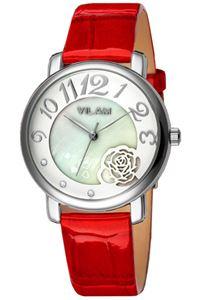 Picture of  Đồng hồ nữ dây da Vilam V1008L-01D (Đỏ)