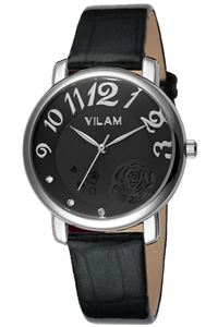 Picture of Đồng hồ nữ dây da Vilam V1008L-01A (Đen)