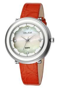 Picture of Đồng hồ nữ dây da Vilam V1010L-01E (Cam)