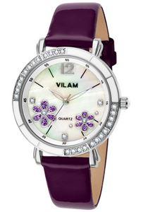 Picture of Đồng hồ nữ dây da Vilam V1026L-01B (Tím)
