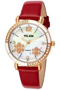 Picture of Đồng hồ nữ dây da Vilam V1026L-01E (Đỏ)