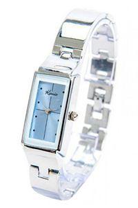 Picture of Đồng hồ nữ dây thép không gỉ Kimio K874 (Trắng mặt xanh)