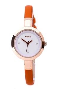 Picture of Đồng hồ nữ dây da Kezzi K575 (Cam)