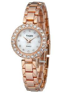 Picture of Đồng hồ nữ dây kim loại YAQIN Y6174 (Vàng)