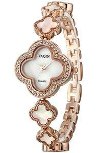 Picture of Đồng hồ nữ dây kim loại YAQIN Y6173 (Vàng)