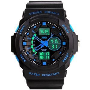 Picture of Đồng hồ nam dây nhựa SKMEI Sport Watch 0955 (Xanh)