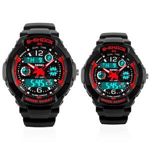 Picture of  Đồng hồ đôi thể thao Sport Skmei S-Shock 0931-1060 (Mặt đen đỏ)