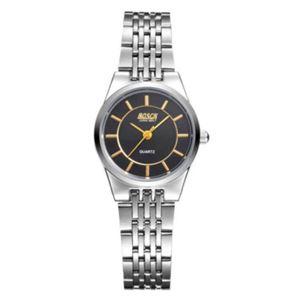 Picture of Đồng hồ nữ dây inox BOSCK 3304 (Trắng mặt đen)
