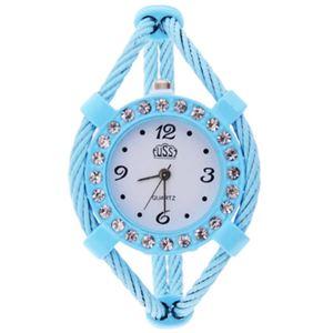 Picture of Đồng hồ nữ vòng đeo tay USS 001 (Xanh)