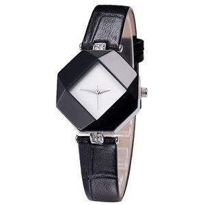 Picture of  Đồng hồ nữ dây da Kezzi 8KN94 (Đen)