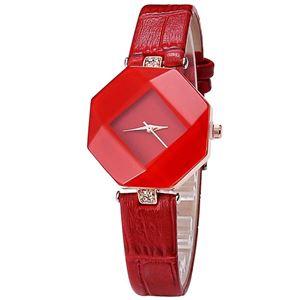 Picture of Đồng hồ nữ dây da Kezzi 8KN94 (Đỏ)