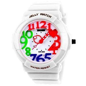Picture of Đồng hồ nữ dây nhựa SKMEI Baby Girl 1020 (Trắng)