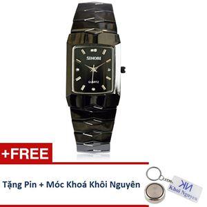 Picture of Đồng hồ nữ dây thép không gỉ Sinobi 91KN48 (Đen)