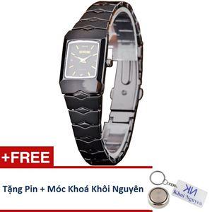 Picture of Đồng hồ nữ dây thép không gỉ Sinobi 91KN48 (Vạch Vàng)
