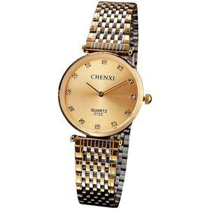 Picture of Đồng hồ nam dây thép không gỉ Chenxi 07KN2C (Mặt Vàng)