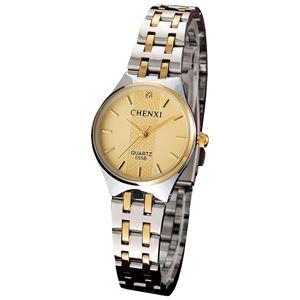 Picture of Đồng hồ nữ dây thép không gỉ Chenxi 05KN0B (Mặt Vàng)