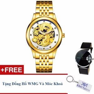 Picture of Đồng hồ nam cơ dây thép không gỉ Tevise 90KCN06G + Tặng đồng hồ WMG và móc khoá Khôi Nguyên