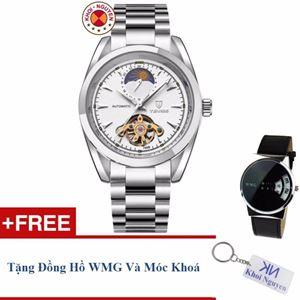 Picture of Đồng hồ nam cơ dây thép không gỉ Tevise 79KCN5B + Tặng đồng hồ WMG và móc khoá Khôi Nguyên