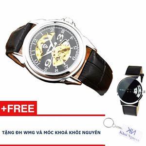 Picture of Đồng hồ nam cơ automatic dây da Tevise 83KCN78 + Tặng đồng hồ WMG và móc khoá