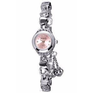 Picture of Đồng hồ nữ dây thép không gỉ Kimio 0KN18 (Hồng)