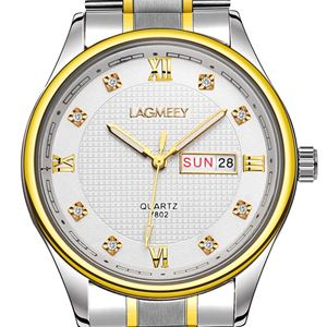 Picture of Đồng hồ nam dây thép không gỉ Lagmeey 7802